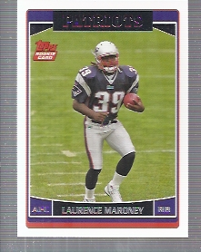 2006 Topps #373 Laurence Maroney RC