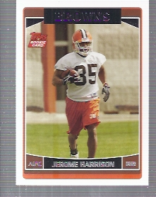 2006 Topps #376 Jerome Harrison RC