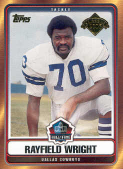2006 Topps Hall of Fame Tribute #RWR Rayfield Wright