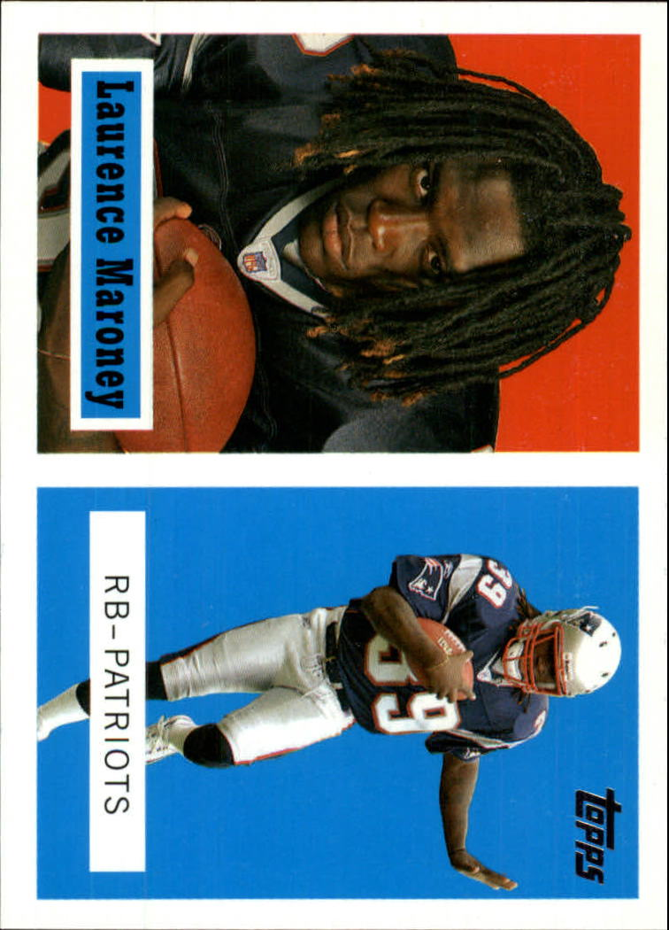 2006 Topps Turn Back the Clock #5 Laurence Maroney