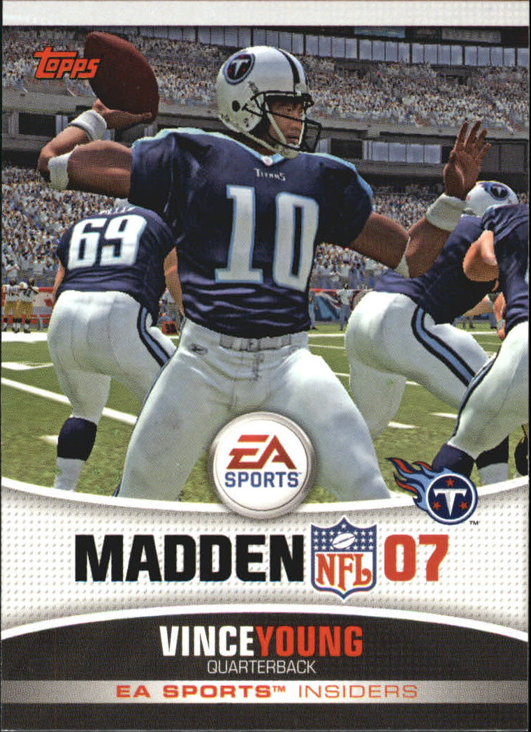 2006 Topps EA Sports Madden #8 Vince Young