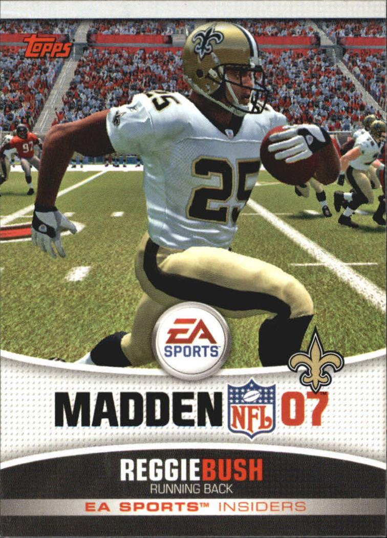 2006 Topps EA Sports Madden #20 Reggie Bush