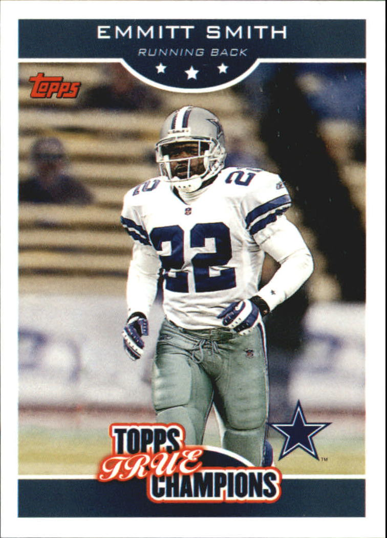 2006 Topps True Champions #16 Emmitt Smith
