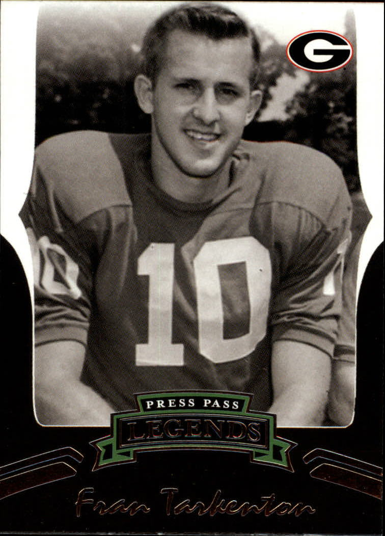 2006 Press Pass Legends #61 Fran Tarkenton