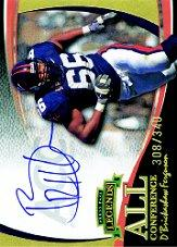 2006 Press Pass Legends All Conference Autographs Gold #6 D'Brickashaw Ferguson/340