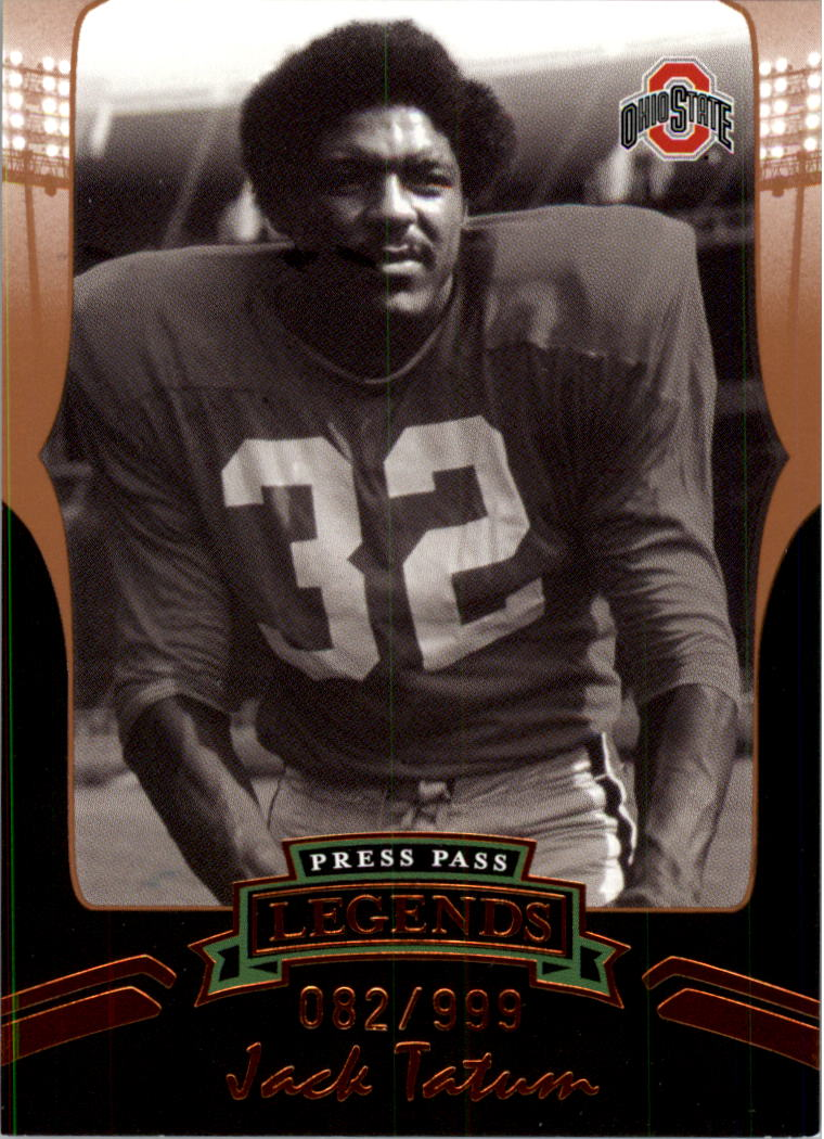 2006 Press Pass Legends Bronze #B73 Jack Tatum