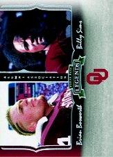 2006 Press Pass Legends Alumni Association #AA6 Brian Bosworth/Billy Sims