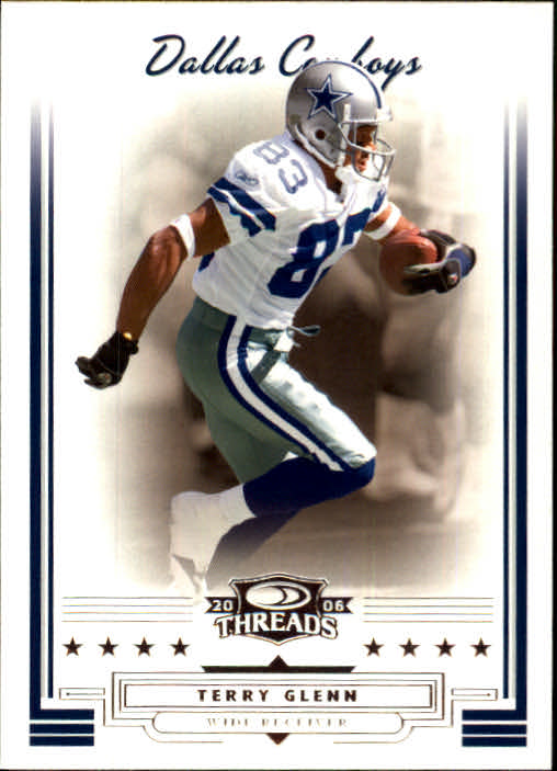 2006 Donruss Threads #5 Terry Glenn