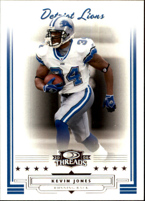2006 Donruss Threads #7 Kevin Jones