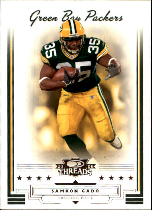 2006 Donruss Threads #12 Samkon Gado
