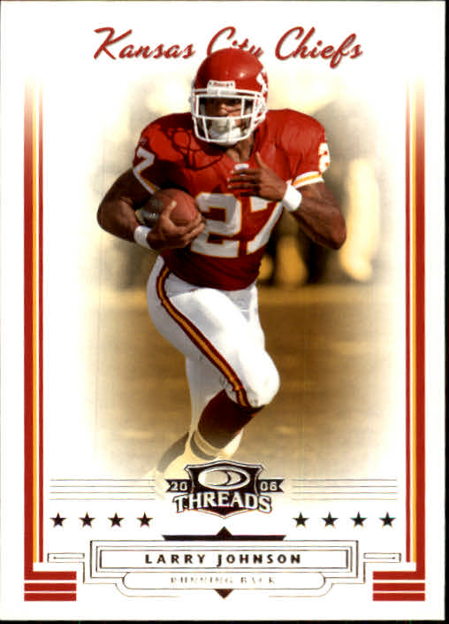 2006 Donruss Threads #16 Larry Johnson