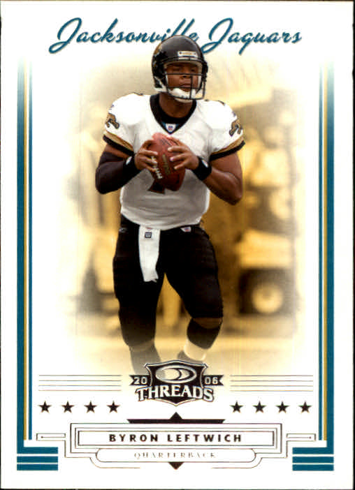 2006 Donruss Threads #17 Byron Leftwich
