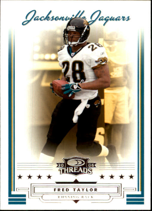 2006 Donruss Threads #18 Fred Taylor