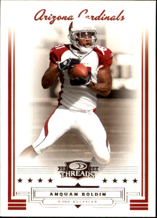 2006 Donruss Threads #19 Anquan Boldin