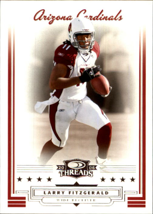2006 Donruss Threads #21 Larry Fitzgerald