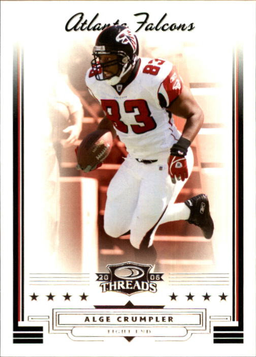 2006 Donruss Threads #22 Alge Crumpler