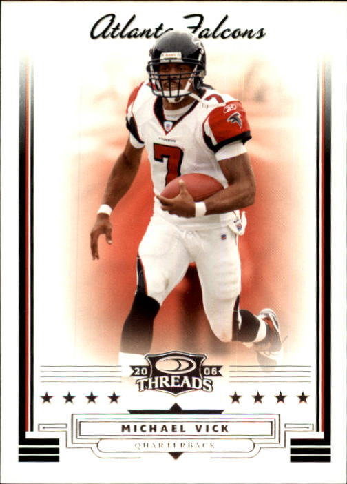 2006 Donruss Threads #23 Michael Vick