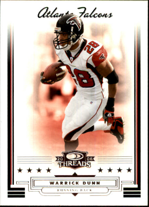 2006 Donruss Threads #24 Warrick Dunn