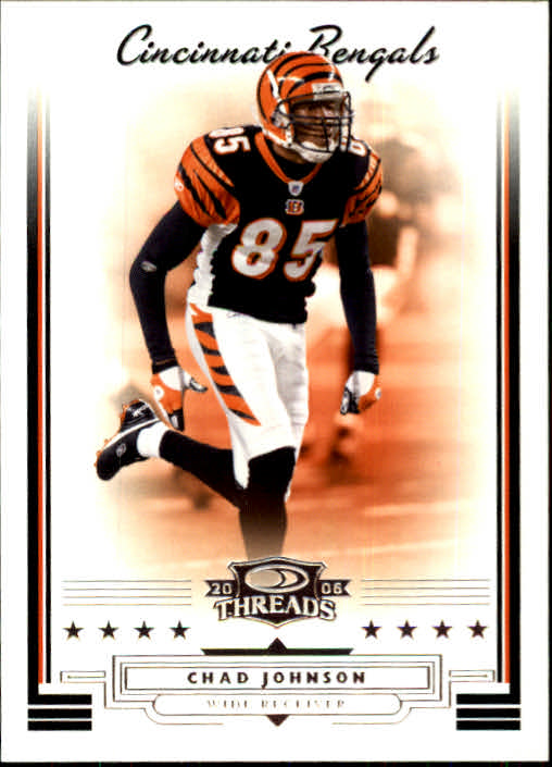 2006 Donruss Threads #33 Chad Johnson