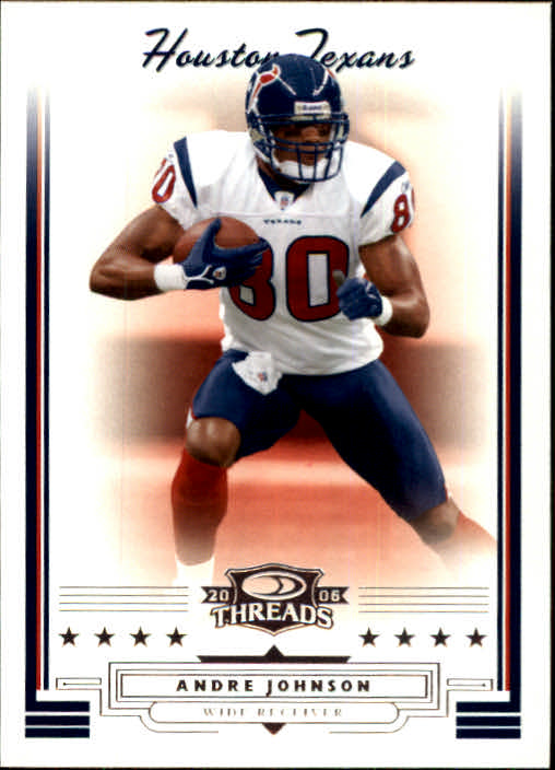 2006 Donruss Threads #46 Andre Johnson