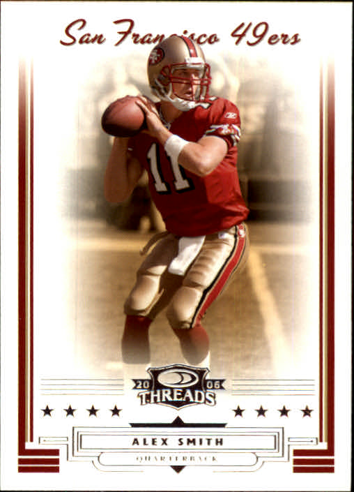 2006 Donruss Threads #77 Alex Smith QB