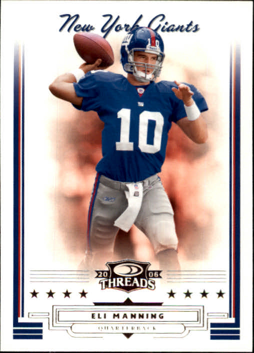 2006 Donruss Threads #117 Eli Manning