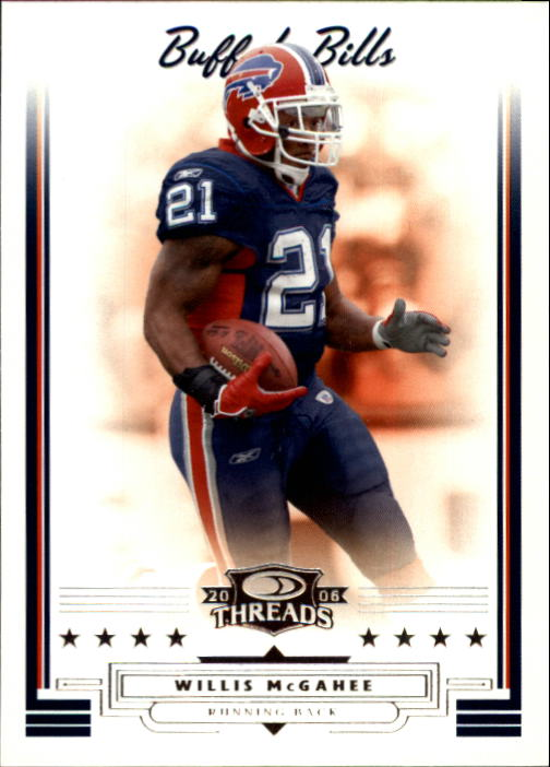 2006 Donruss Threads #137 Willis McGahee