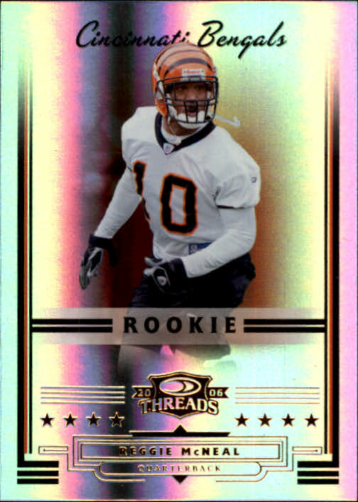 2006 Donruss Threads #153 Reggie McNeal RC