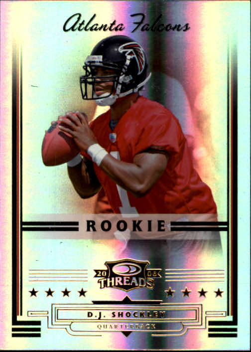 2006 Donruss Threads #155 D.J. Shockley RC