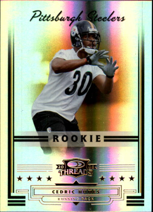 2006 Donruss Threads #162 Cedric Humes RC