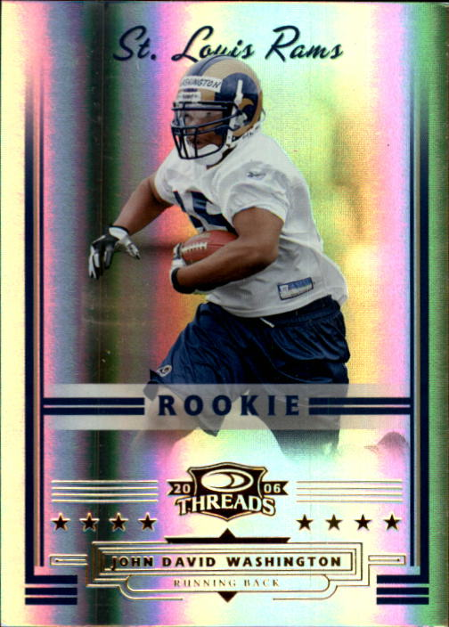 2006 Donruss Threads #165 John David Washington RC