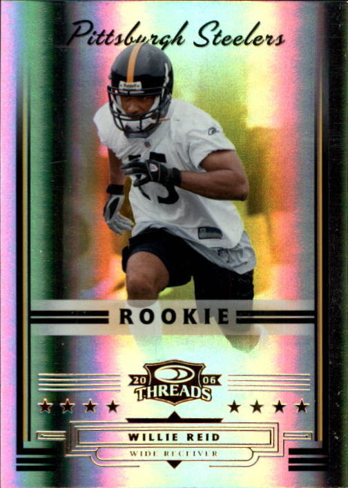 2006 Donruss Threads #172 Willie Reid RC