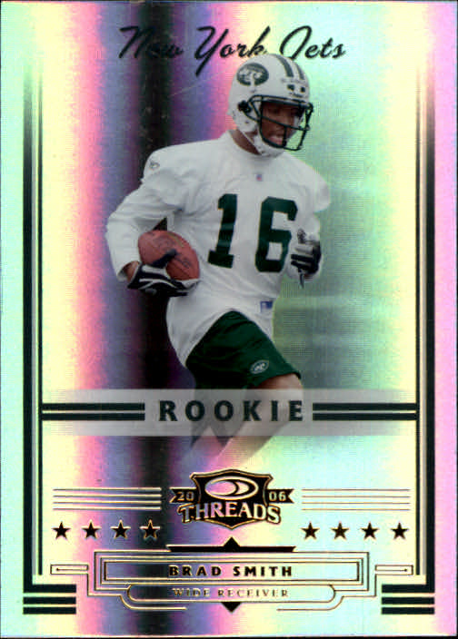 2006 Donruss Threads #173 Brad Smith RC