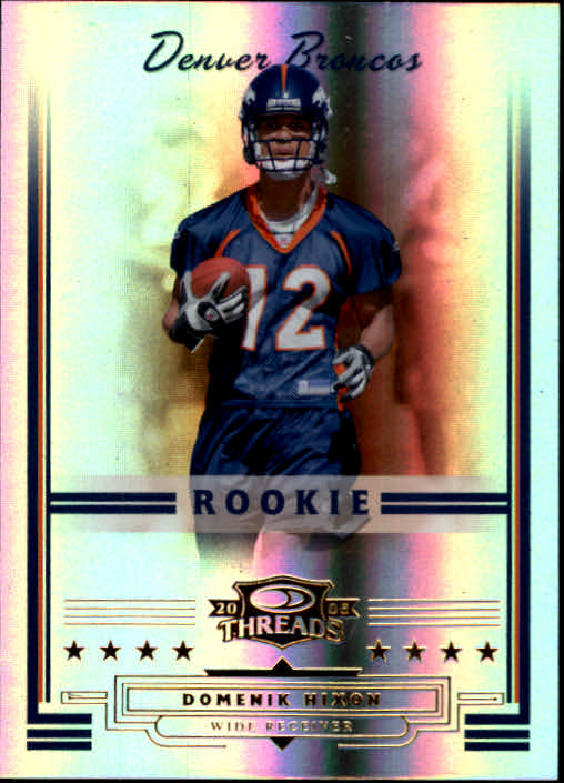 2006 Donruss Threads #175 Domenik Hixon RC