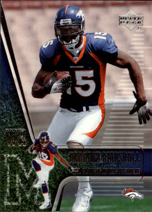 2006 Upper Deck Rookie Premiere #18 Brandon Marshall