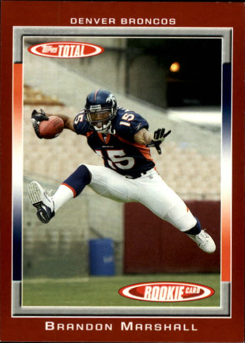 2006 Topps Total Red #441 Brandon Marshall