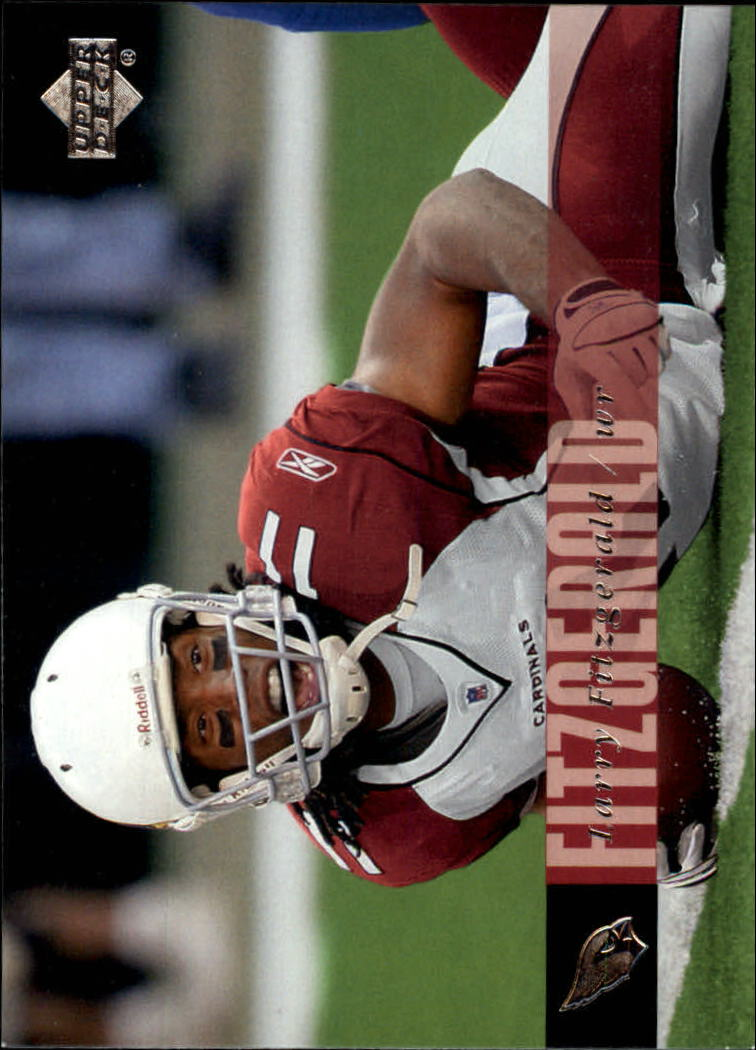 2006 Upper Deck #1 Larry Fitzgerald