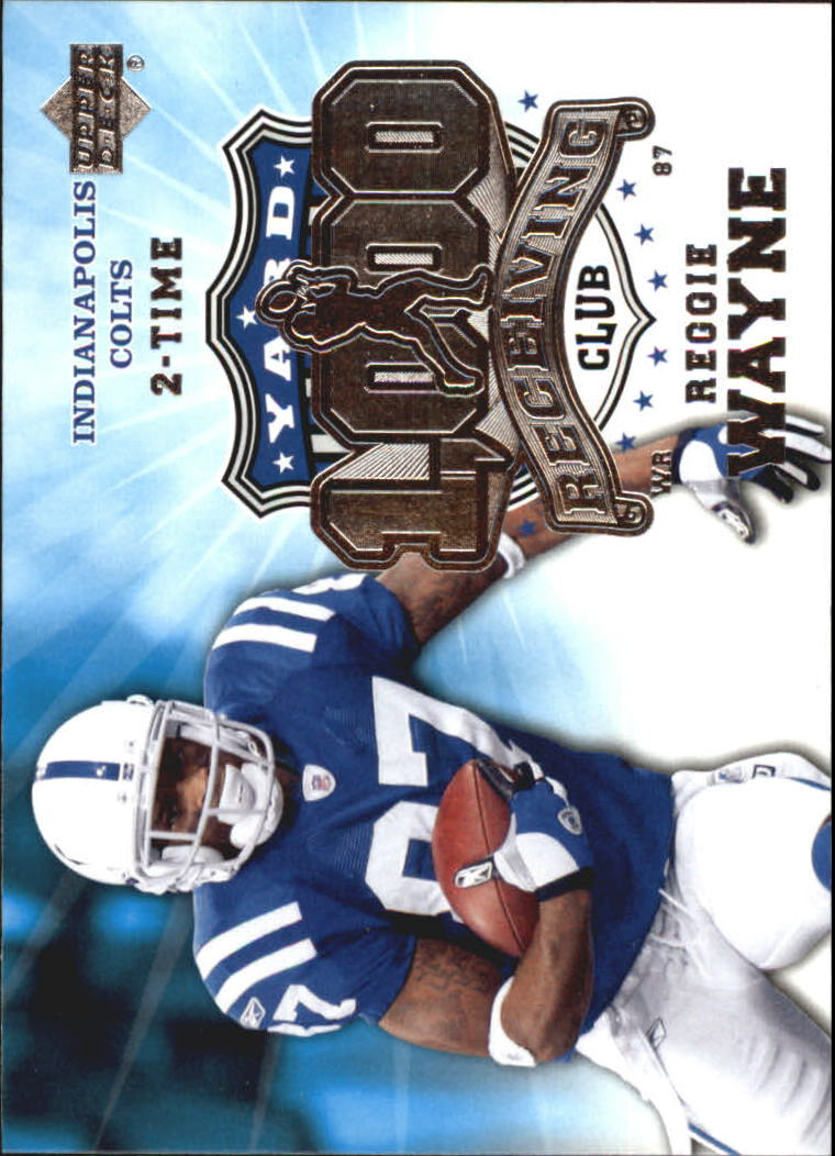 2006 Upper Deck 1000 Yard Receiving Club #1KRERW Reggie Wayne