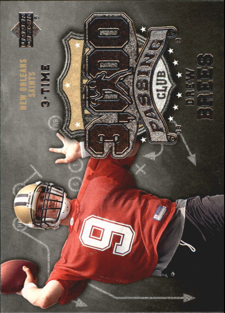 2006 Upper Deck 3000 Yard Passing Club #3KPBR Drew Brees front image