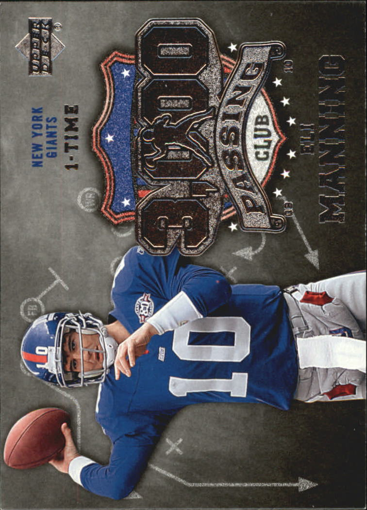 2006 Upper Deck 3000 Yard Passing Club #3KPEM Eli Manning