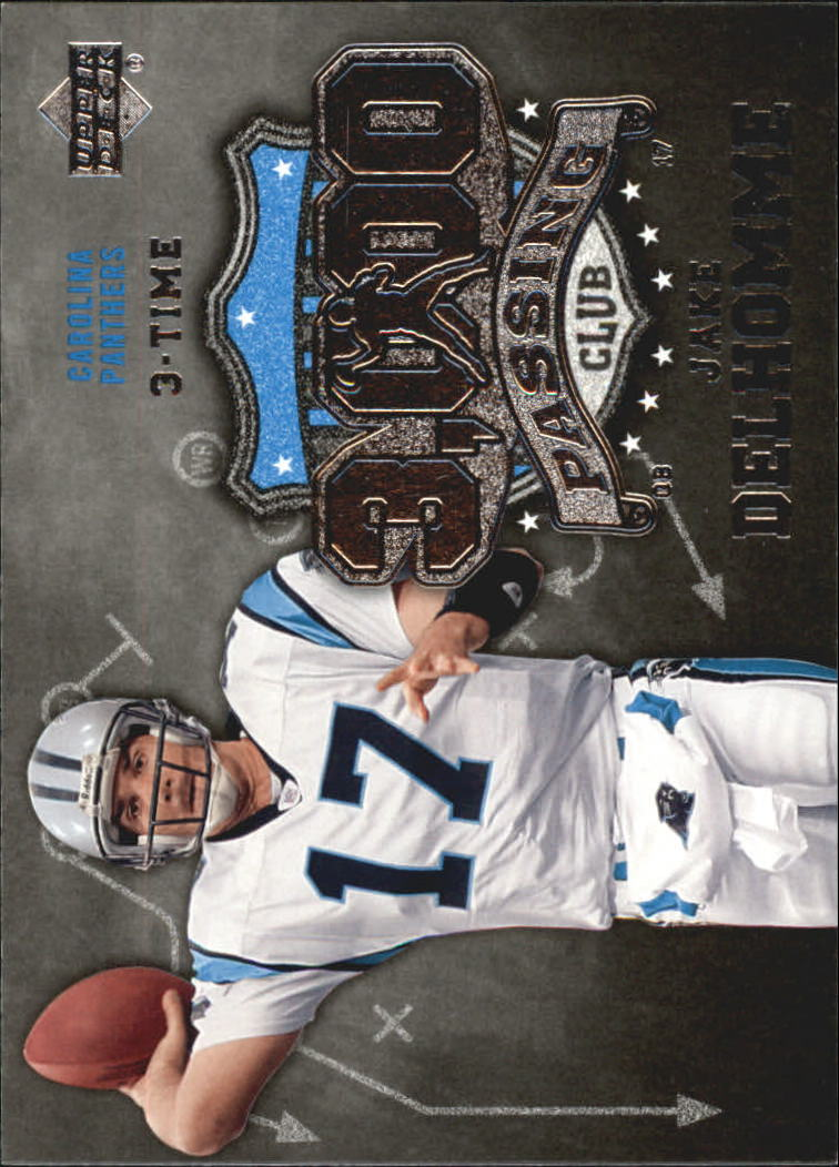 2006 Upper Deck 3000 Yard Passing Club #3KPJD Jake Delhomme front image