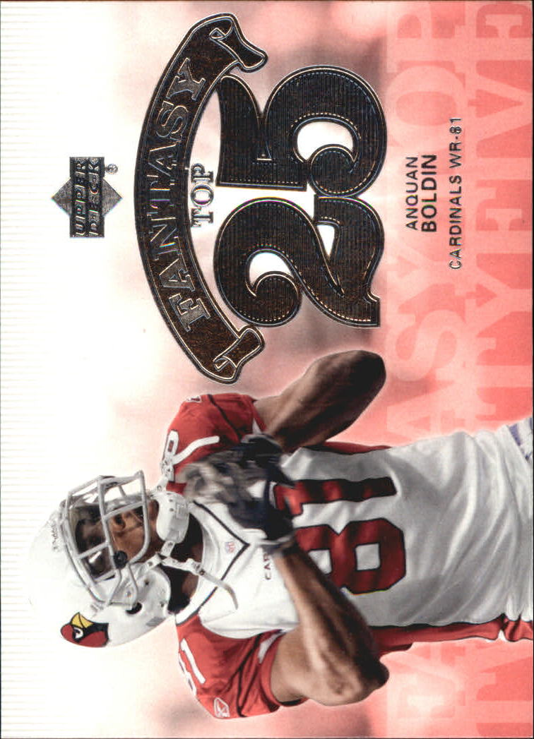 2006 Upper Deck Fantasy Top 25 #F25AB Anquan Boldin
