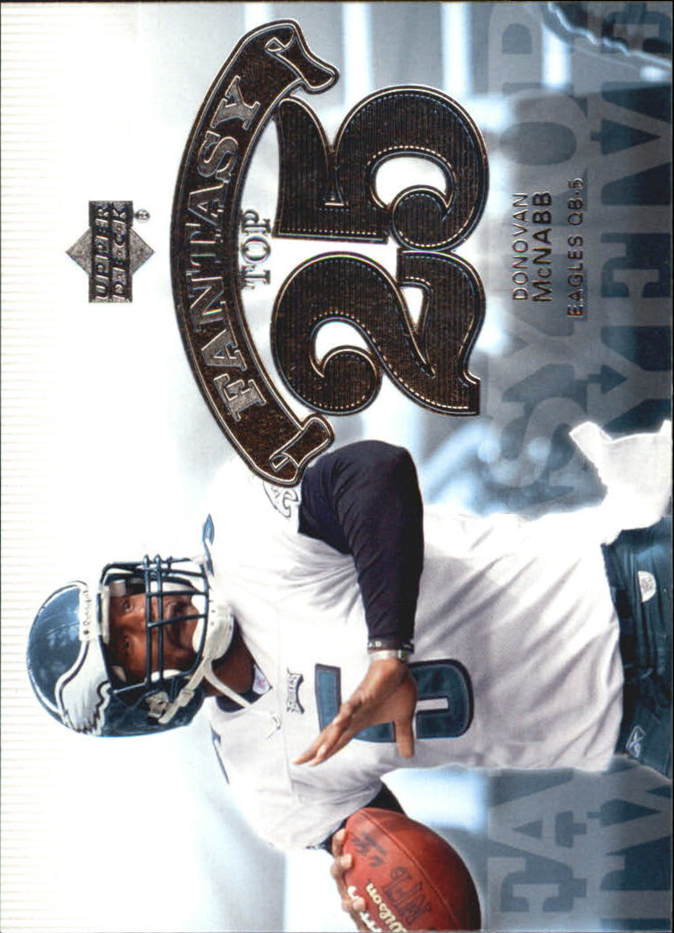 2006 Upper Deck Fantasy Top 25 #F25DM Donovan McNabb
