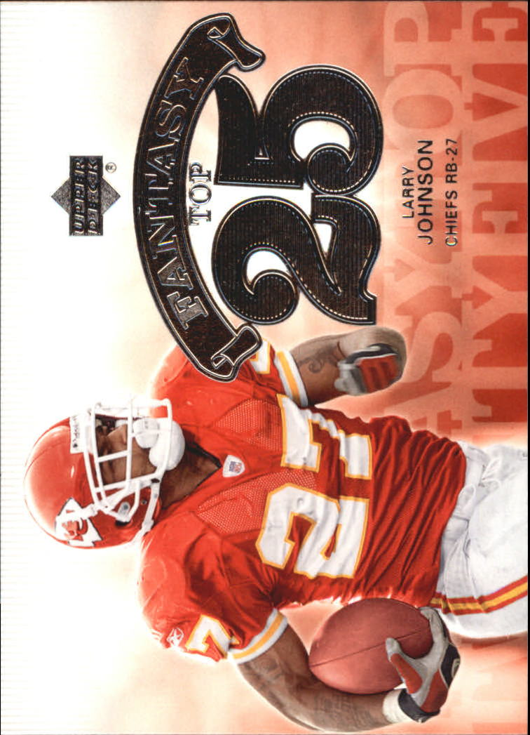 2006 Upper Deck Fantasy Top 25 #F25LJ Larry Johnson