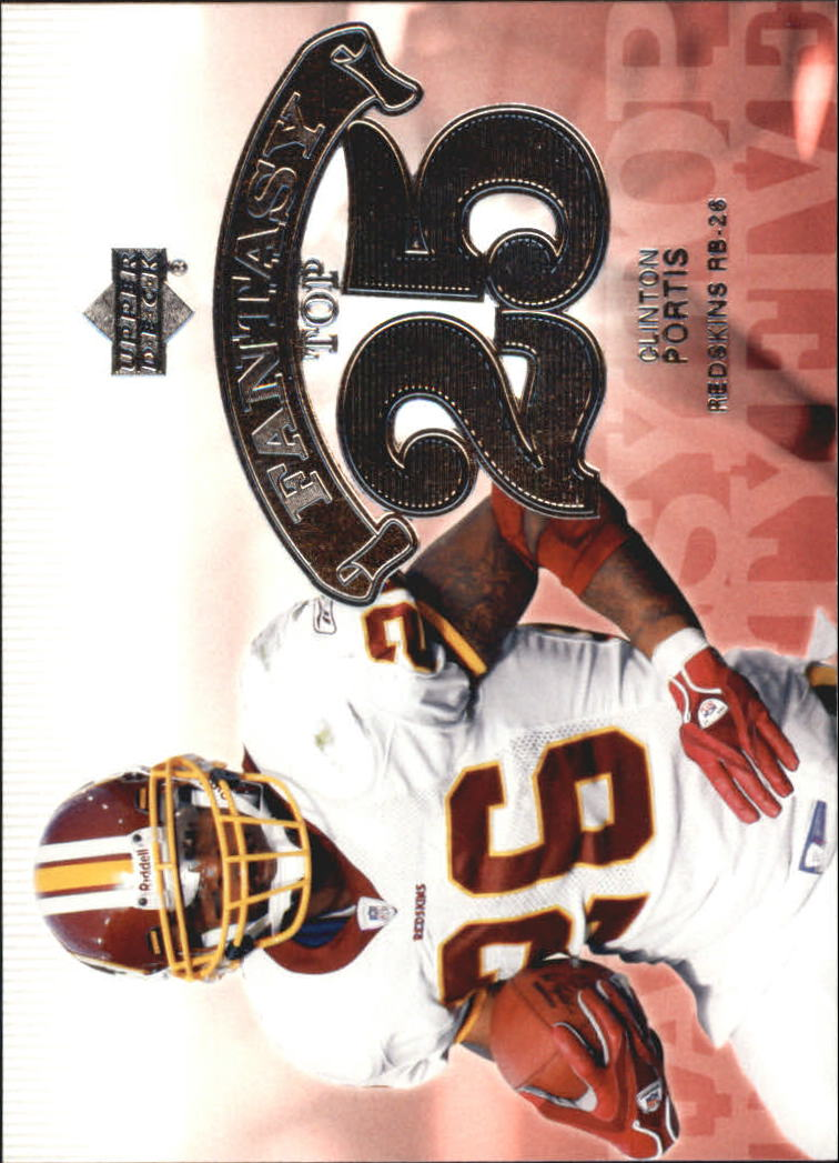 2006 Upper Deck Fantasy Top 25 #F25PO Clinton Portis