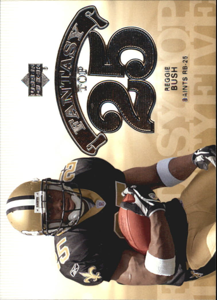 2006 Upper Deck Fantasy Top 25 #F25RB Reggie Bush