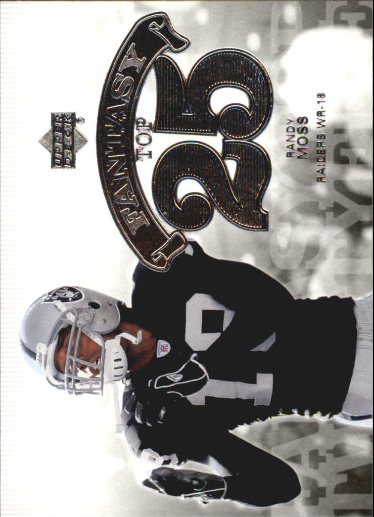 2006 Upper Deck Fantasy Top 25 #F25RM Randy Moss