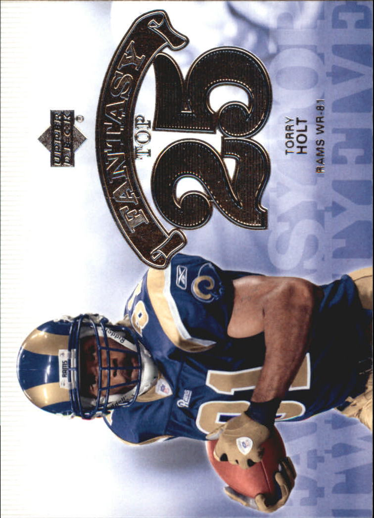 2006 Upper Deck Fantasy Top 25 #F25TH Torry Holt
