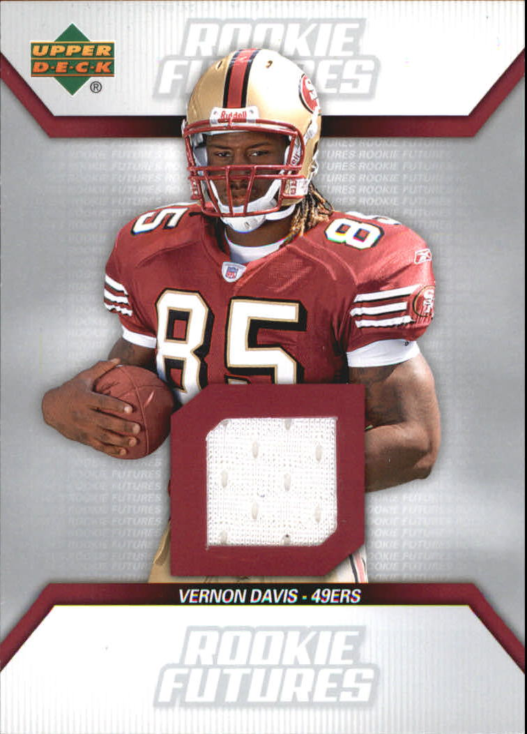 2006 Upper Deck Rookie Futures Jerseys  #RFVD Vernon Davis