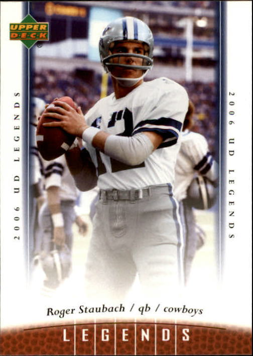 2006 Upper Deck Legends #6 Roger Staubach